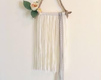 MADE TO ORDER / Boho wall hanging / Yarn wall hanging / wall decor / modern wall decor / nursery decor