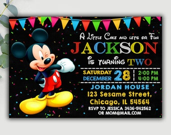 Baby Mickey Mouse Baby Shower Invitations is best invitation ideas