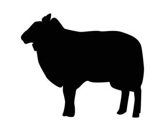 Sheep Farm Animals Graphics SVG Dxf EPS Png Cdr Ai Pdf Vector Art Clipart instant download Digital Cut Print File Cricut Silhouette