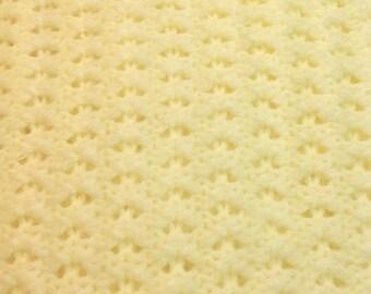 Baby Blanket French Vanilla