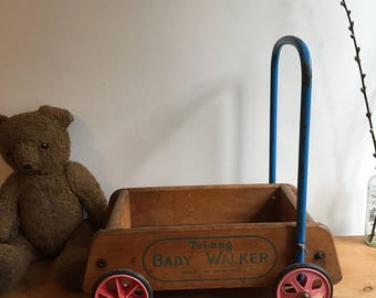 Vintage Baby Walker, by Triang