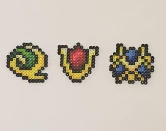 Zelda Spiritual Stones (Keychain, Pin, Magnet)