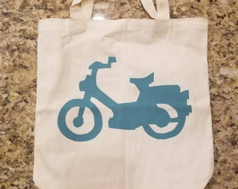 Puch Maxi Moped Tote Bag