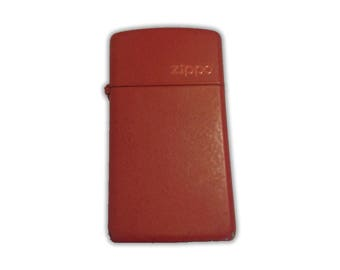 Zippo Red Slim Lighter