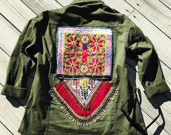 Sarah Camo Jacket