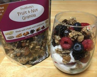 Healthy Granola No Sugar Added Homemade