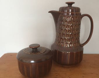 Wedgewood pennine tea pot and sugar bowl