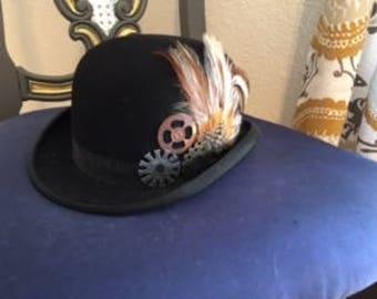 Steampunk Derby Hat