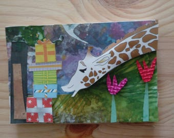 individualy crafted hand made greeting cards which turn into pictures