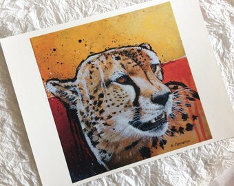 Cheetah-Print (8.5 x 11 in)