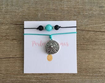 Anklet - sand Dollar - perfect for summer - Beachy look