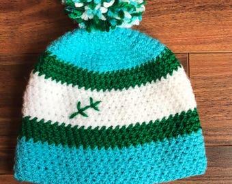 Labrador Crochet Baby Hat