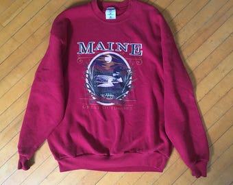 90's Vintage Pullover Sweatshirt