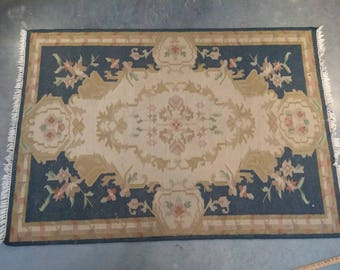 4x6 Indo Persian flat weave RUG