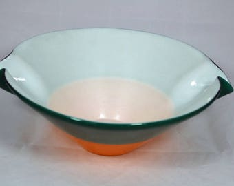 Fused Glass Spouted Bowl
