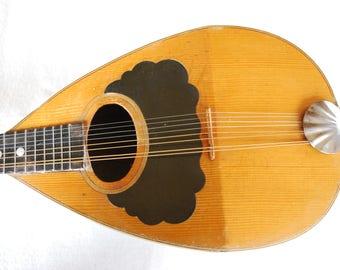 Vintage Roundback Mandolin