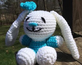 Crochet Easter Bunny Baby Gift