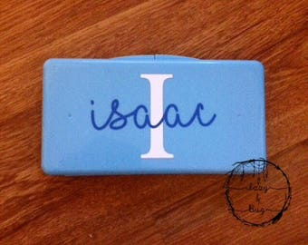 Personalized Travel Wipe Case