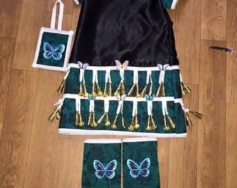 Toddler girls jingle dress (MADE TO ORDER)