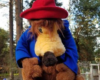 "Vintage Disney ""Brer Bear"" Stuffed Animal Plush"