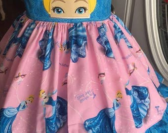 Cinderella theme twirl dress