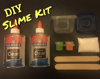 DIY Slime Kit with activator/Kids Craft