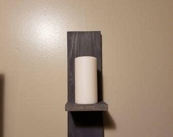 Candle wall mount