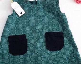 Girls pinafore age 2 sale