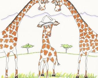 Half A Giraffe, Don't Laugh - Children's Book