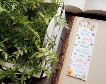 She Reads Books | Bookmark
