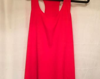 Bright, Red, Soprano, Professional, Sleeveless Top
