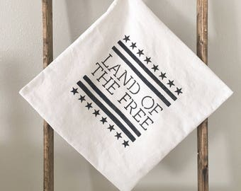 "Land of the Free | 18""x18"" 