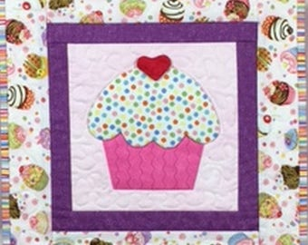 Cupcake Express Wall Hanging