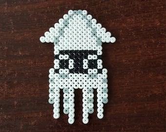 Blooper Super Mario Pixel Bead Art
