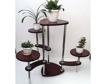 "Free ship! Plant stand ""Geneva"". Flower stand - Indoor plant stands - Plant holder - Plant table - Stand for flowers - Flower shelf - Shelf"