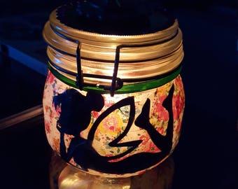 Tinkerbell fairy jar