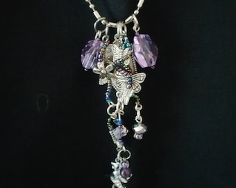 Butterflies & Fairies Charm Necklace