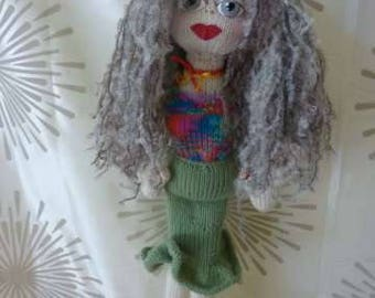 "Hand Knitted ""Babe"" doll 22 inches, Jennifer"