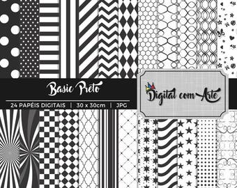 50% OFF - Black Digital Paper