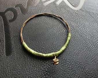 Bass String Bracelet