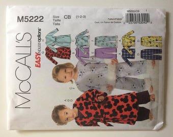 Child Sewing Pajama Pattern/Adult Pajama and Dress Sewing Pattern