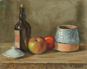 Apples, Bottle, Jar