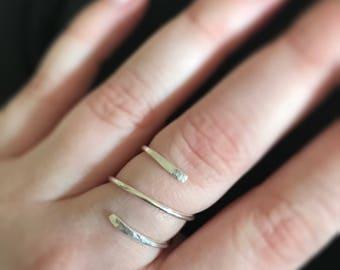 Simple Swirl Ring