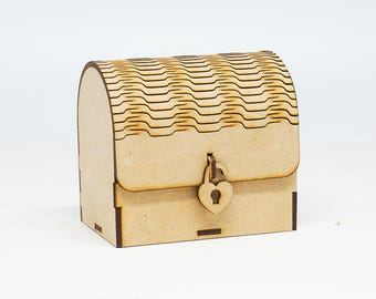 Small trunk for jewelry