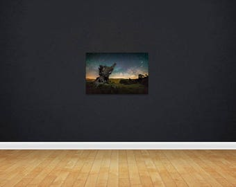 16 x 24 Print of the Milky Way, Lake Cuyamaca, California.
