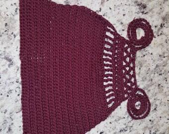 Hand made crochet crop top