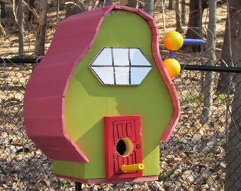 Seuss Inspired Birdhouse
