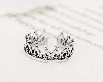 Princess Ring - Sterling Silver