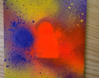 Gym (Handheld Series) Painting