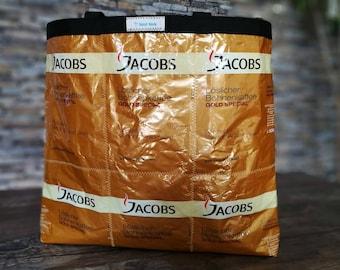 Handmade handbag coffee bags of Jacobs Coffee bag, UPCYCLING